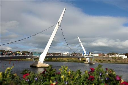 Peace Bridge, Derry - my home town.