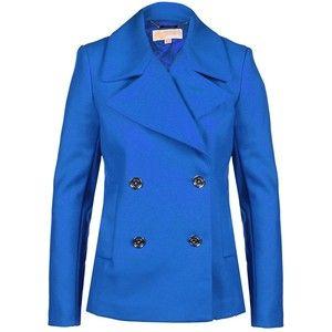 MICHAEL Michael Kors Cropped Pea Coat