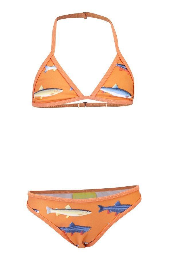 Claesen's bikini voor meisjes Fish oranje�