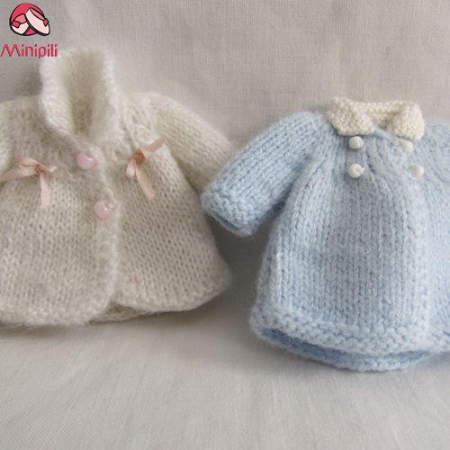 TUTORIAL: Cómo hacer un abrigo de punto en miniatura para casas de muñecas