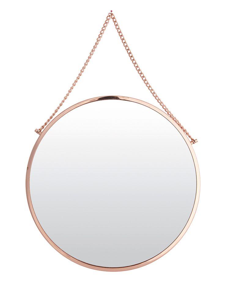 Miroir rond Bolina, Fleux