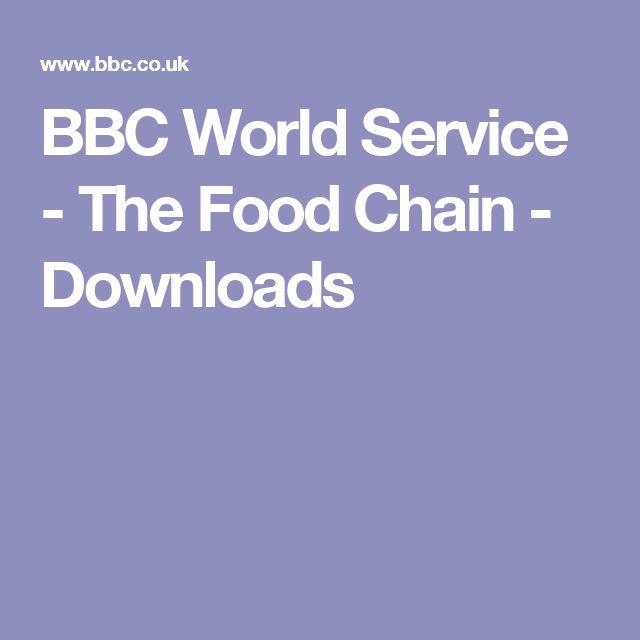 BBC World Service - The Food Chain - Downloads