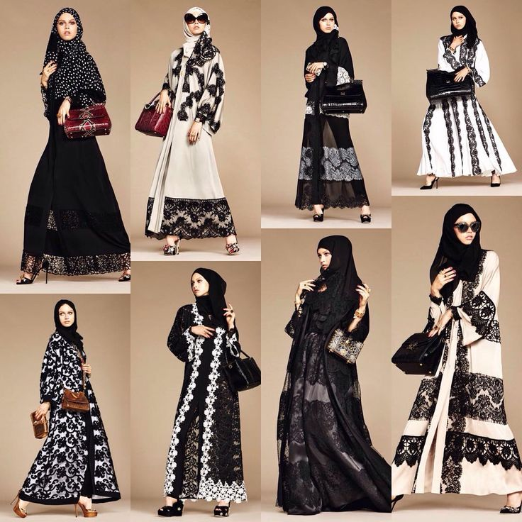 « Dolce & Gabbana Launches Abaya Collection. Photo credit @stefanogabbana…