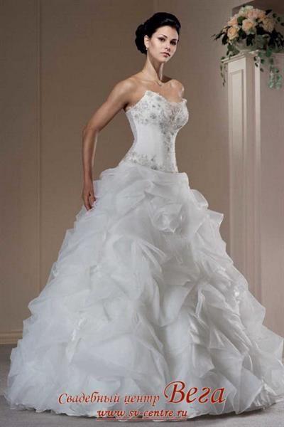Свадебном платье фото