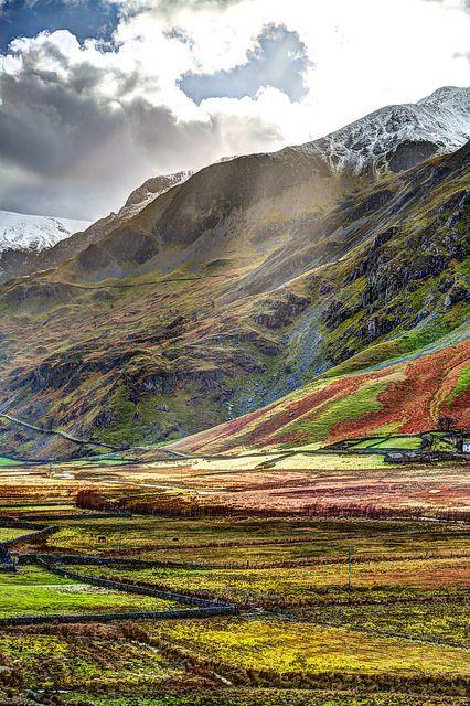 Nant Ffrancon, Snowdonia, North Wales