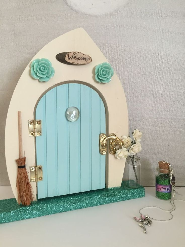 1822 best images about fairy doors on pinterest for Fairy door gift set