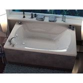 "Found it at Wayfair - St. Lucia 78"" x 48"" Air and Whirlpool Jetted Bathtub"