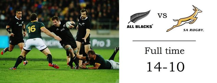 That is the match. The @AllBlacks withstood a furious closing onslaught from the @Springboks #NZLvRSA
