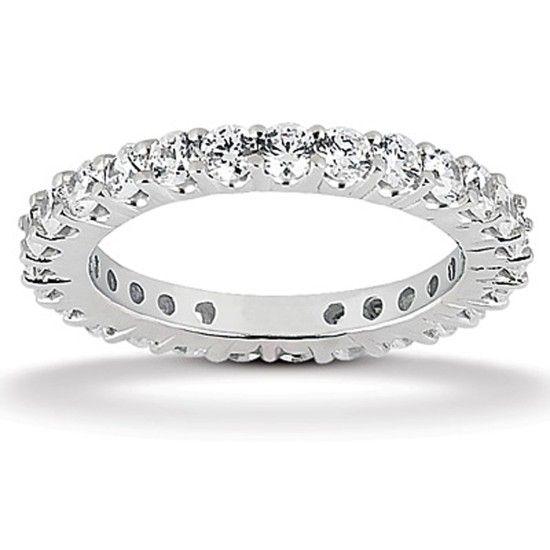 Evighetsring med 1.68ct Diamanter