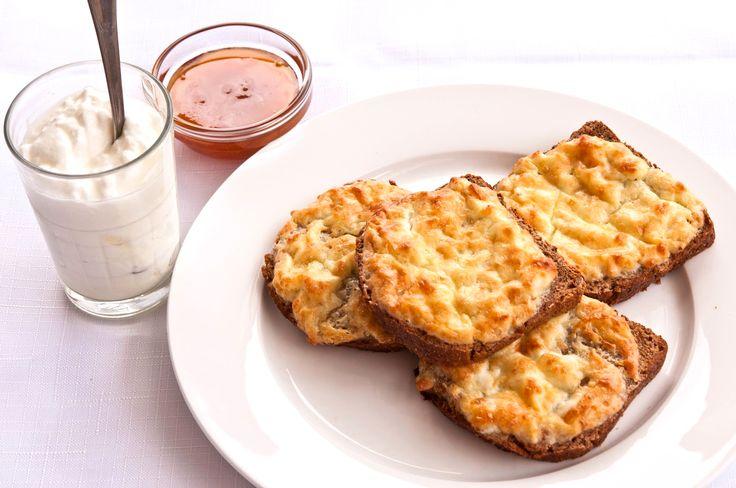 Бутерброд с сыром и яйцом | Кулинарный Рай