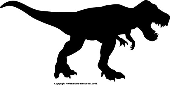 Home Free Clipart Silhouette Clipart Silhouette T Rex ... Unstoppable Dinosaur