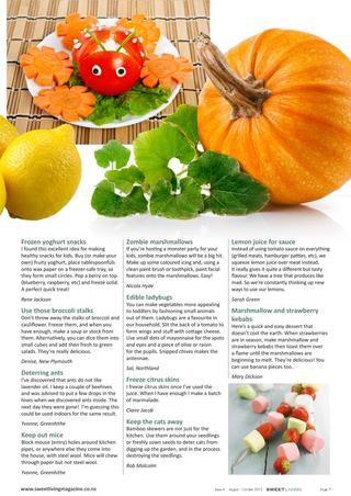 Crafts, DIYs, food, backyard sustainability, green living