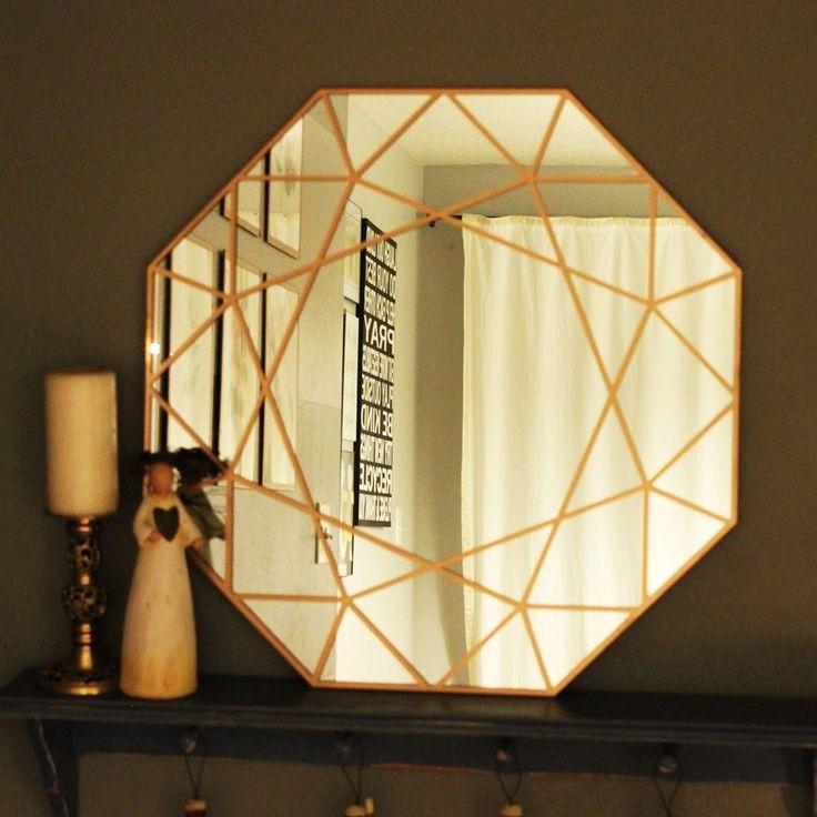 DIY Gem Mirror – A Gorgeous Statement Piece