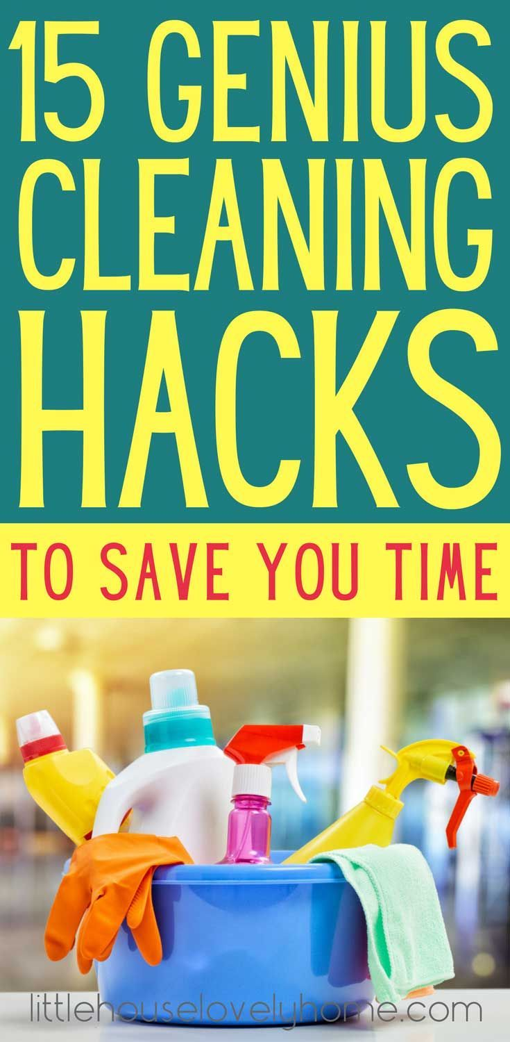 Cleaning tips - how to clean your house in less time. These tips are GREAT if you hate to clean and just want it done! Clean your house quicker.