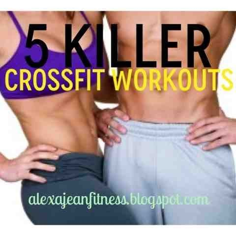 Fitness & Health: 5 Killer CrossFit Workouts, CrossFit workouts, beginner CrossFit workout, CrossFit workout exercises, CrossFit