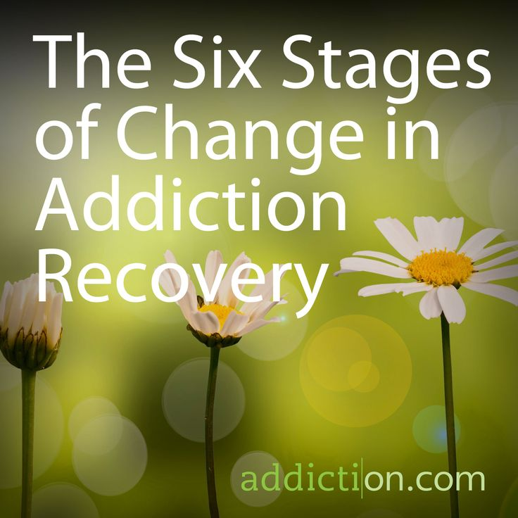 The life changes needed for addiction recovery aren't instantaneous. Learning the 6 stages of behavioral change can help you through this difficult process.