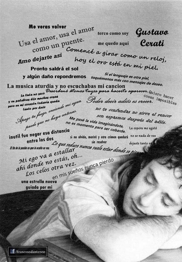Frases de Gustavo Cerati