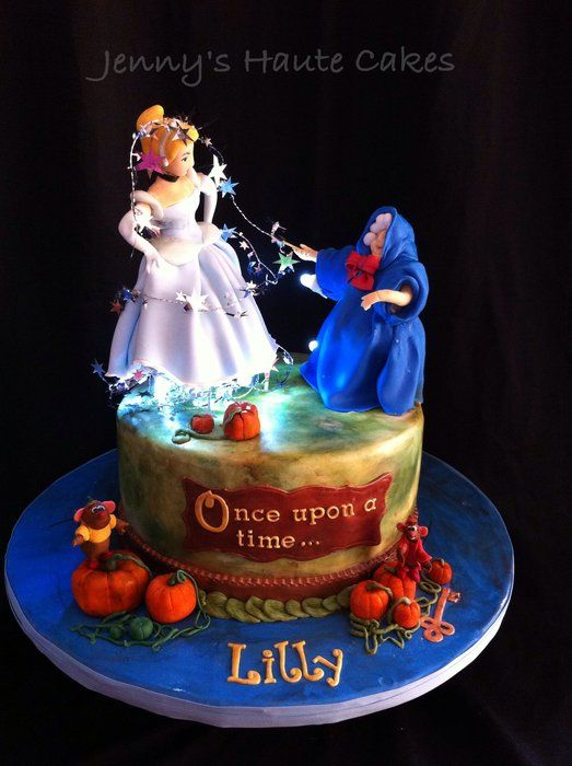 Awesome Cinderella Cake by my dear friend Jenny with Jenny's Haute Cakes....