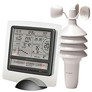 Amazon.com : AcuRite 9.75 in. H Digital Weather Station with Weather Ticker 00615HDSBA1 : Outdoor Thermometers : Patio, Lawn & Garden