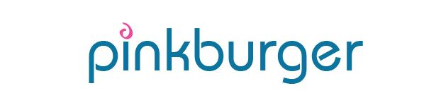 Pinkburger logo designed by Fusion Studios