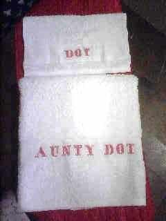 Aunty Dot Towels