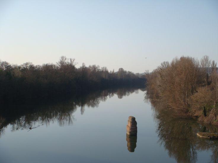 Le Tarn vu du Pont de Buzet