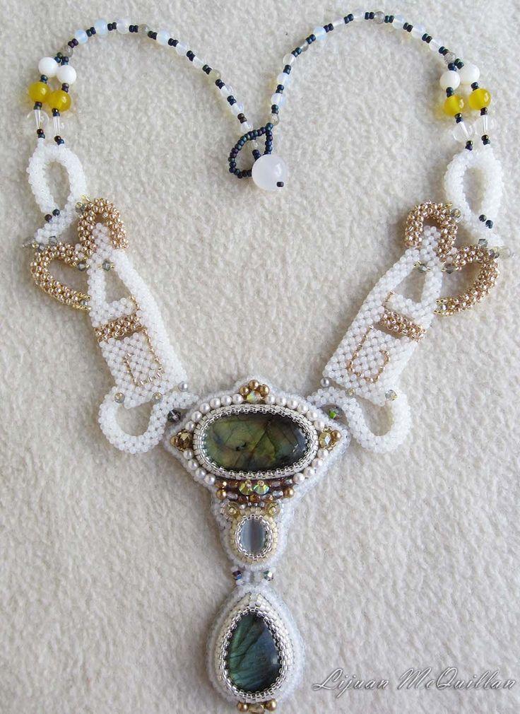 Best fabulous beaded jewellery images on pinterest