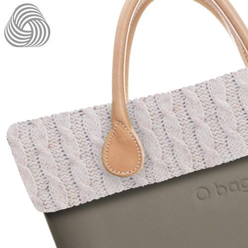 Twisted Wool Trim - Natural - O Bag Accessory