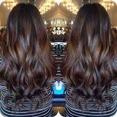 balayage hair black indian - Google Search