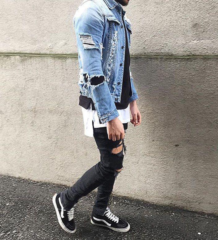 17 mejores ideas sobre Vans Outfit Men en Pinterest | Trajes de hombres Estilo urbano de los ...