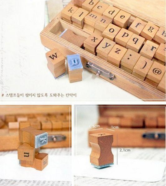 alfabet stempel letterstempel | bijzondere letterstempels | bijzonder cadeau