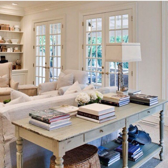 So clean & white & bookish