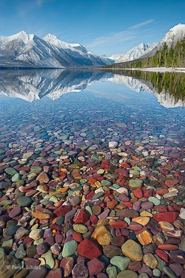 Lake McDonald, Glacier NP, Montana -