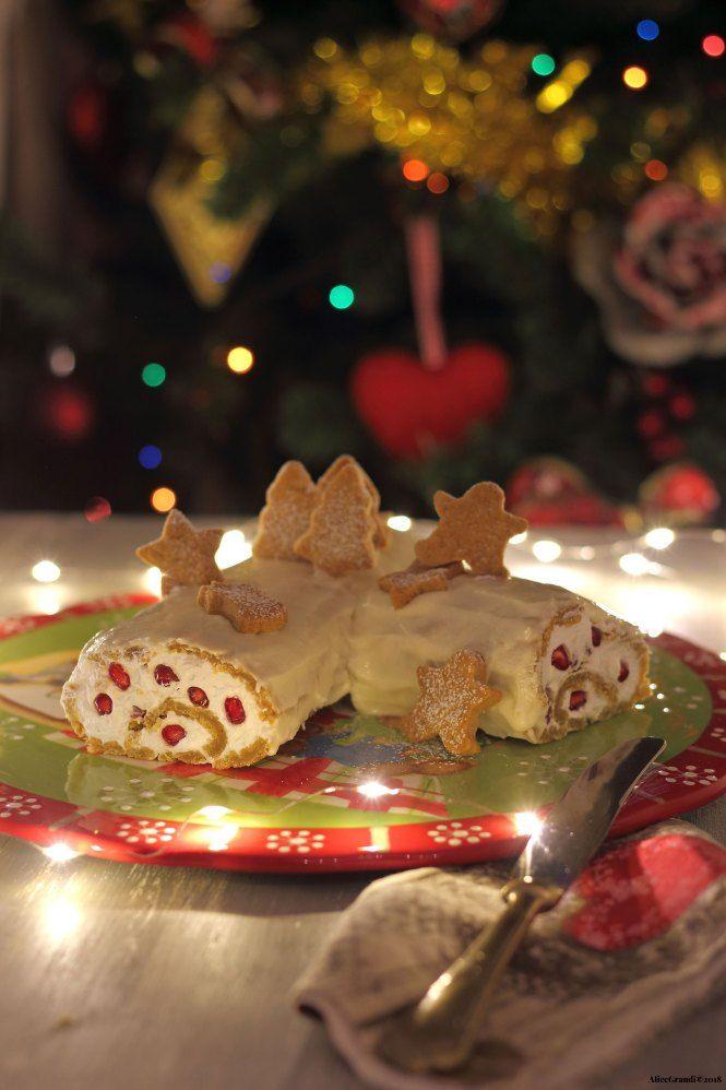 Tronchetto Di Natale Vegano.Tronchetto Di Natale Vegan Al Pan Di Zenzero