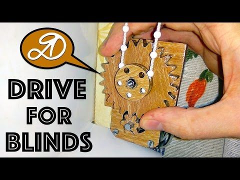 Automatic electric roller blinds on Arduino DIY - YouTube
