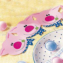 Basteln mit Papier: Glücksschweinchen - Familie.de