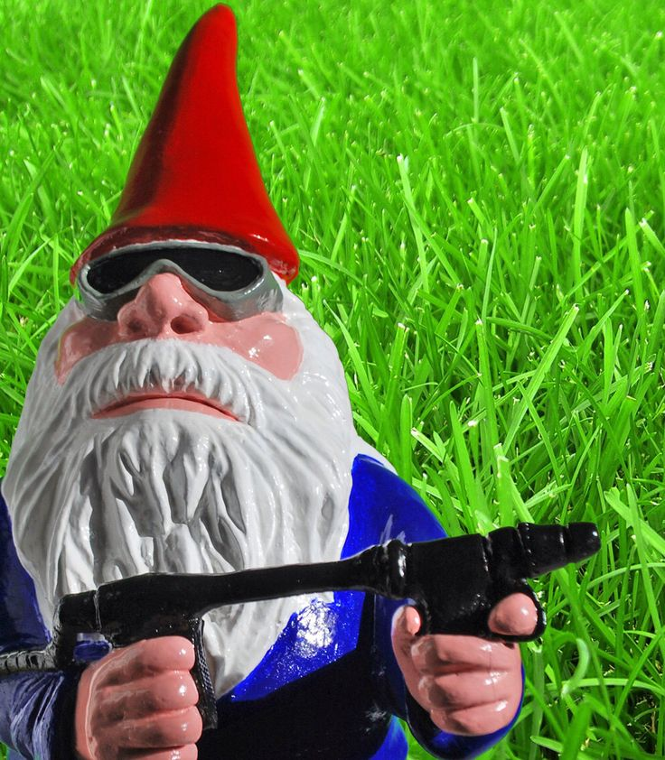 Combat Garden Gnomes: 63 Best Images About Lil Peoples Garden On Pinterest