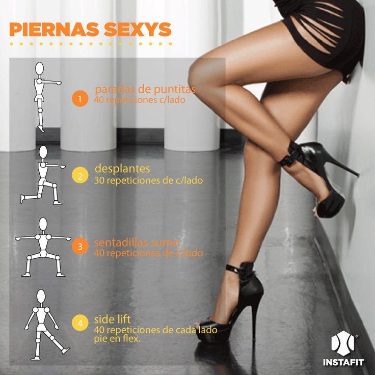 Rutina para tener piernas sexys