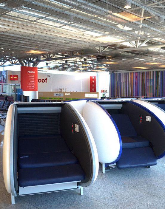 Helsinki Airport Introduces GoSleep Nap Pods