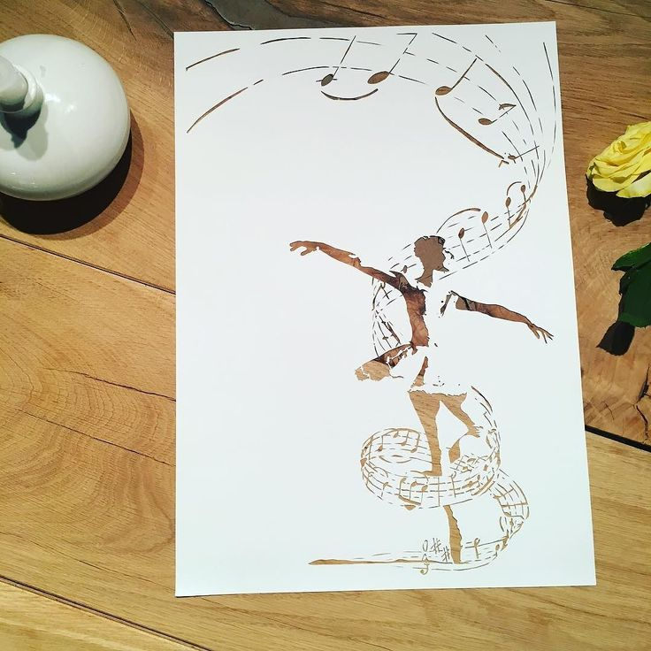 And its finished! It was really fun to try something different this time. Do you have any good ideas what I could try to turn into a Papercut? I would love to hear your ideas! . {A3 paper cut - ballerina with swan lake music notes swirling around her - available in my Etsy shop - link in bio} . . . #ballerinaart #ballerina #ballet #balletart #worlwideballet #balletaddiction #balletmagazine #ballerinaproject_ #ballerinaproject #swanlake #papercut #papermagazine #paperaddiction #paperaddict…