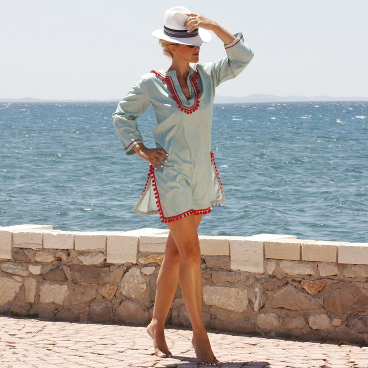 "Maraboo kaftan dress ""spetses"" $85€"