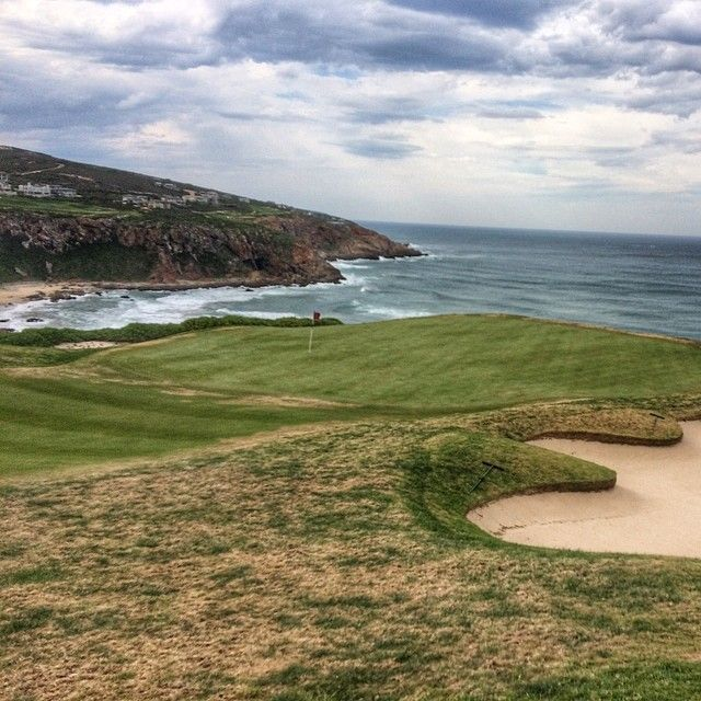 Pinnacle Point Beach and Golf Club in Mossel Bay, South Africa. The course looks amazing. Photo by @SHABL TRAVEL, one of the #MeetSouthAfrica bloggers.