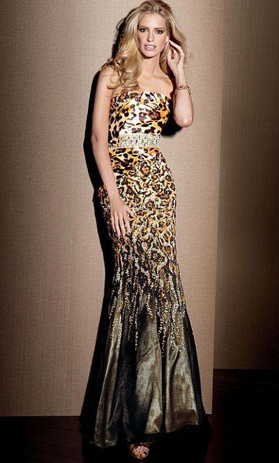 Leopard Print Mermaid Prom Dress | www.pixshark.com ...