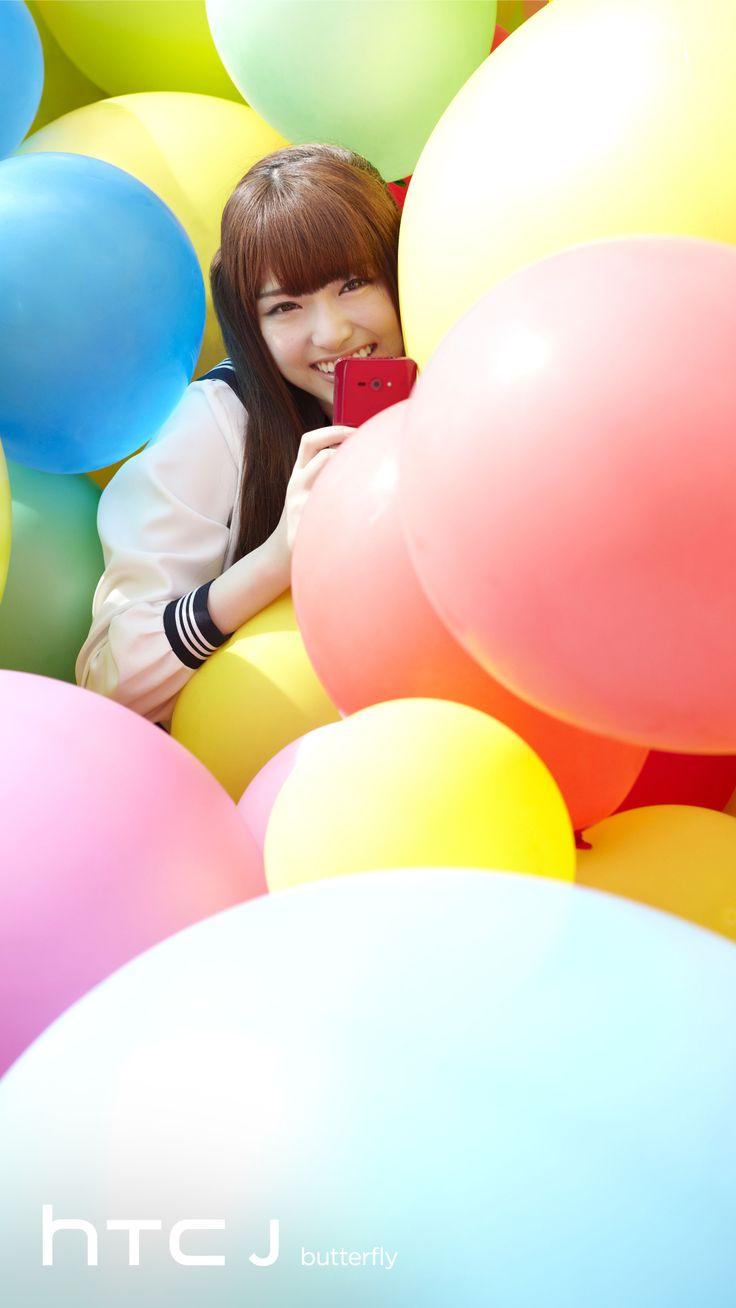乃木坂46 (nogizaka46) Matsumura Sayuri (松村 沙友理) ~ HTC J Butterfly ~ Promo Pic