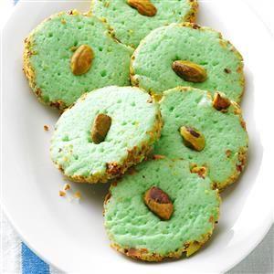 Pistachio Cream Cheese Cookies Recipe from Taste of Home