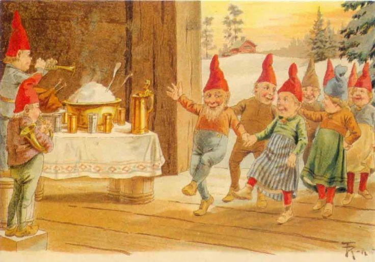 Scandinavian Christmas characters