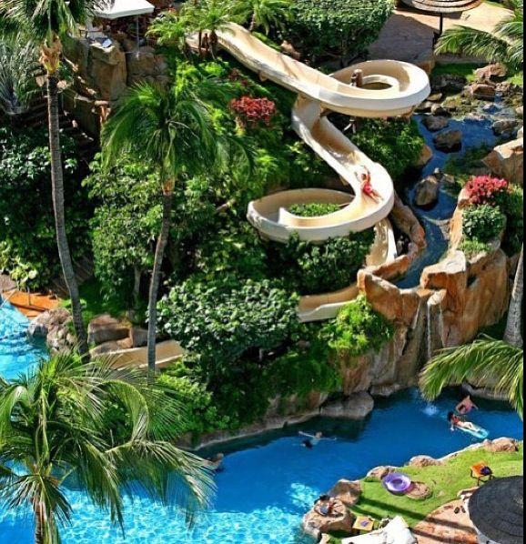 I Want To Go On A Huge Cool Water Slide So Bad Maui Resortshawaii Hotelsmaui