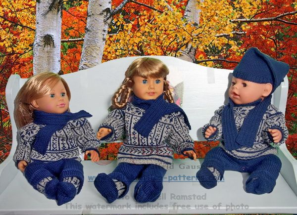 american girl doll sweater pattern