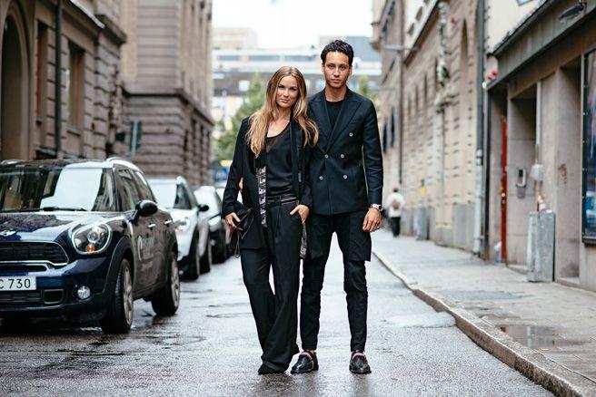 Street style in Sweden #vickydailyinspo