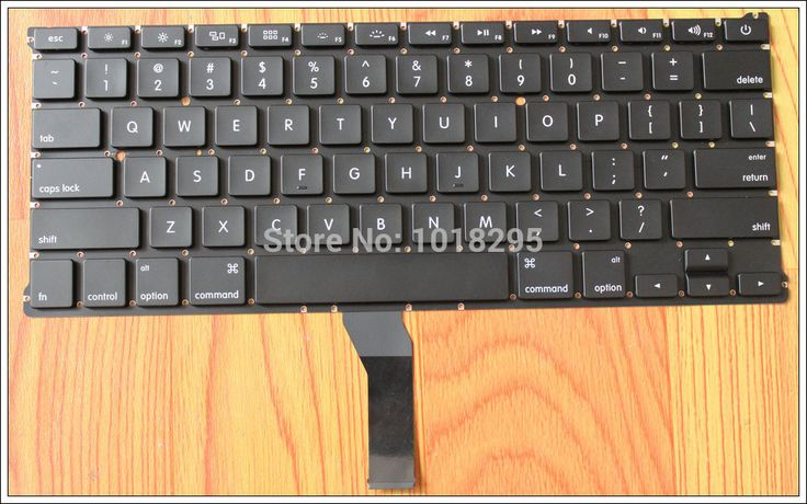 "100%NEW US Keyboard For Macbook Air 13"" A1466 A1369 US keyboard MD231 MD232 MC503 MC504 2011-15 Years"
